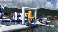 0.9mm PVC Tarpaulin Inflatable Floating Water Playground For Resort