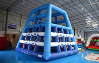 Commercial Inflatable Water Park Games / Adult Water Obstacle Course