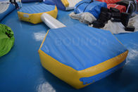 Bouncia Inflatable Water Obstacle Course For Wake Park / Inflatable Water Park Factory