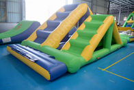 Greece Outdoor Inflatable Floating Water Park Games / Waterpark Inflatables Supplier