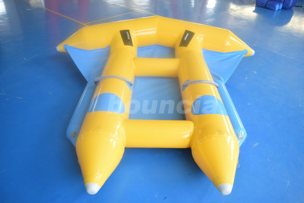 2 Persons Towable Inflatable Flying Fish With Durable PVC Tarpaulin