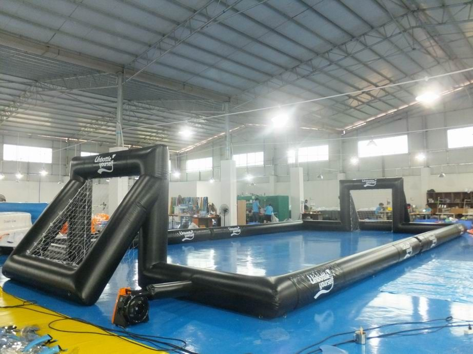 0.55 mm PVC Tarpaulin Inflatable Outdoor Soccer Field For Event