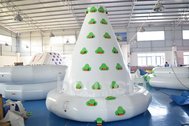 Kids Inflatable Water Sport , Large Inflatable Water Climbing Wall For Water Park