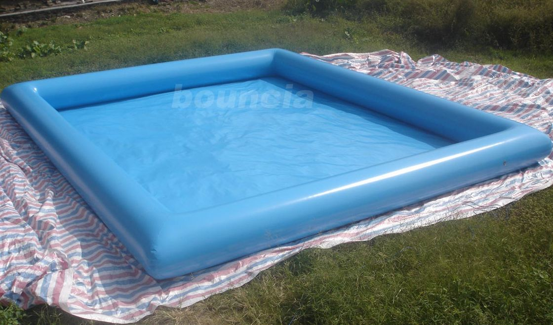 10mL*8mW*0.65mH Outdoor Inflatabel Water Pool With PVC Tarpaulin