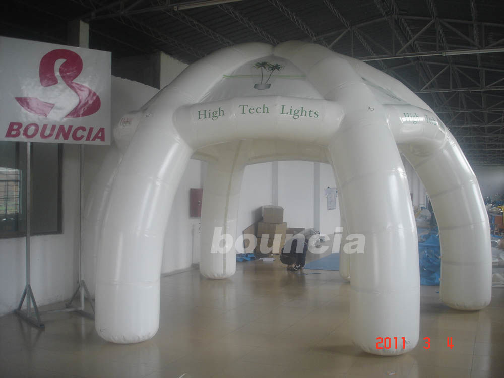 6m Diameter Air Sealed Inflatable Dome Tent For Outdoor Activity