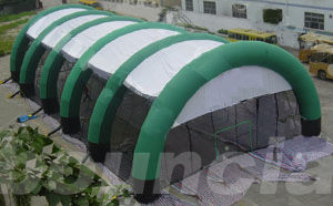 Constant Air Inflatable Paintball Arena With Durable Nylon For Commercial Use