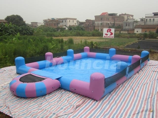 Water Walking Ball Inflatable Water Pool With Platform